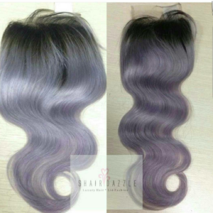 Unicorn Lilac Lace Closure