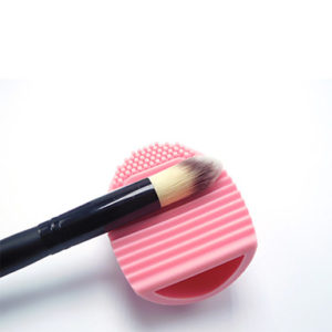 Baby pink brush cleaner